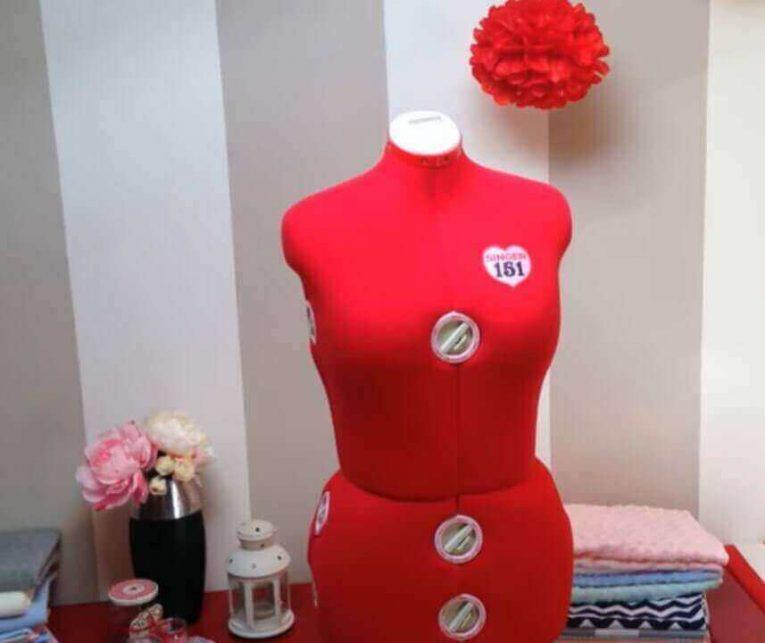 maniqui costura ajustable singer